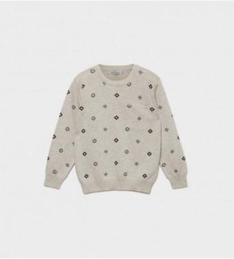Пуловер за момче от  вълна и кашмирt