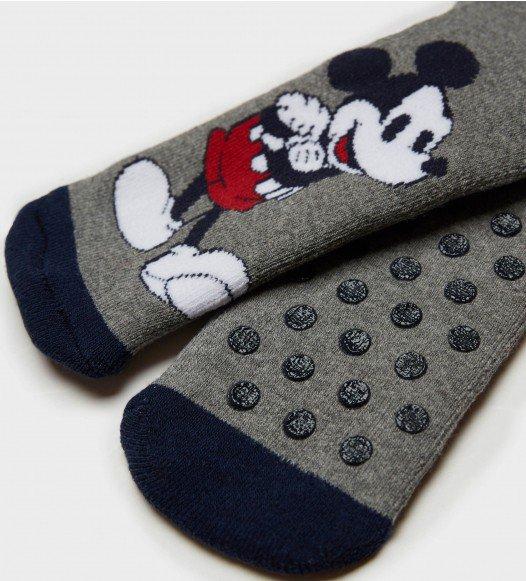 Противохлъзгащи  чорапи за  момче Mickey Mouse