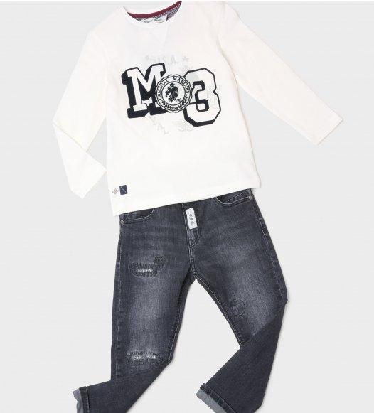 Памучна блуза за момче