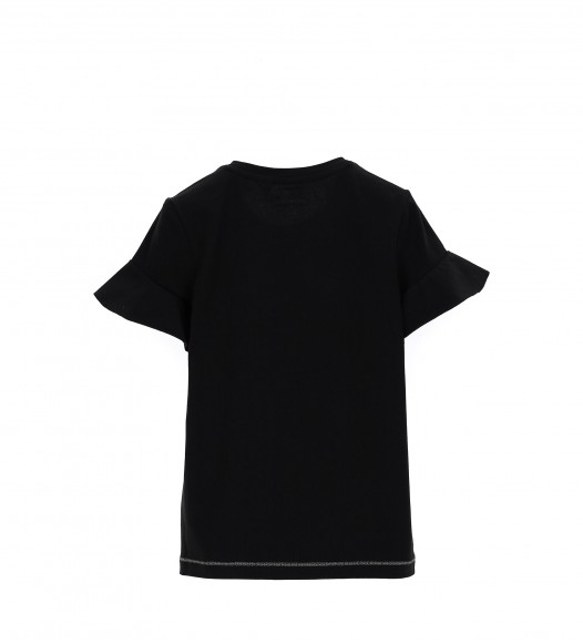 Памучна тениска за момиче