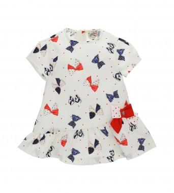 Памучна рокля за бебеt