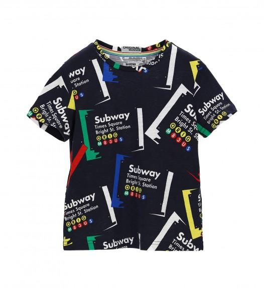 Памучна тениска за момче