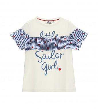 Блуза с харбала за момичеt