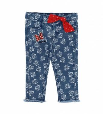 Памучен панталон за бебе момичеt