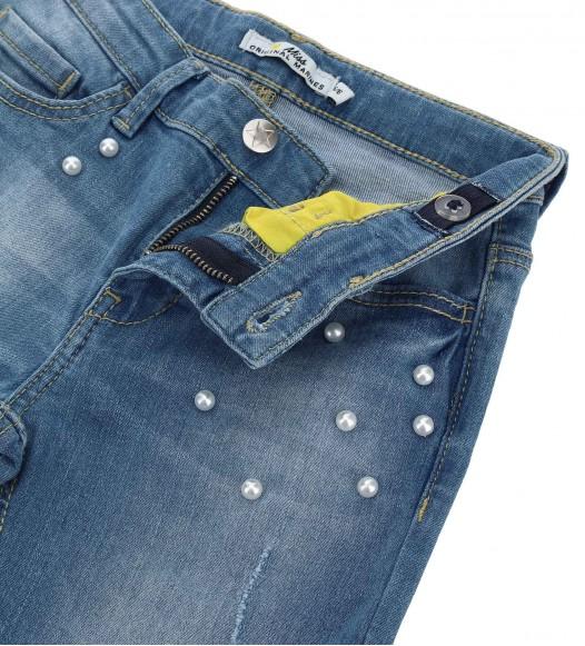 Дънков панталон за момиче